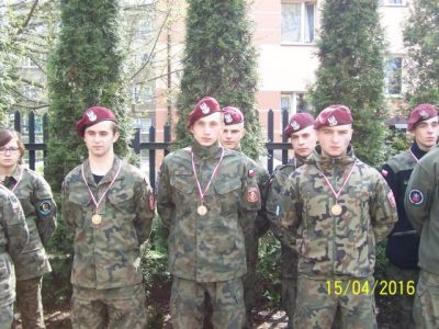 Zwycięstwo w V Ogólnopolskim turnieju klas mundurowych