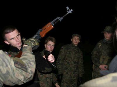 Nocne manewry Strzelców