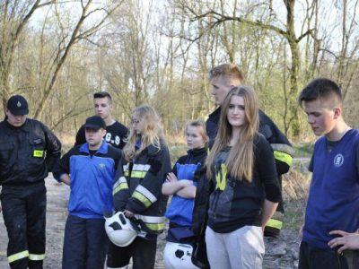 Ćwiczenia drużyny pożarniczej