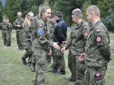 Obóz szkoleniowy klas wojskowych – Nowiny 2017