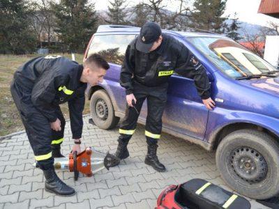 Szkolenie drużyny pożarniczej