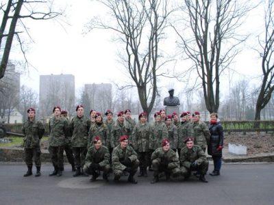 Obóz klasy wojskowej w 16 BPD w Krakowie