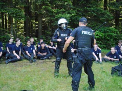 Obóz terenowy klas policyjnych