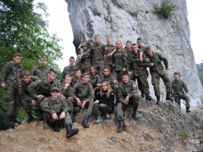 Obóz szkoleniowo – wypoczynkowy w 16 BPD w Krakowie