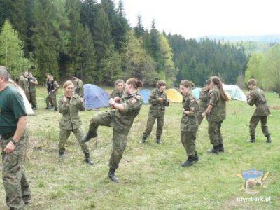 Wiosenny obóz szkoleniowy klas o profilu wojskowym