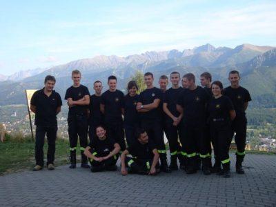 Obóz szkoleniowo-kondycyjny klasy pożarniczej w Kościelisku