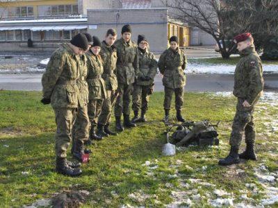 Obóz klas wojskowych w 16 BPD w Krakowie