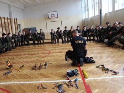Szkolenie z ratownictwa górskiego z Państwową Strażą Pożarną