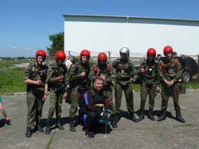 Skoki spadochronowe Krosno 2012