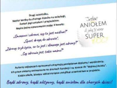 Jestem Aniołem, a Ty jaką masz Super Moc ?- projekt