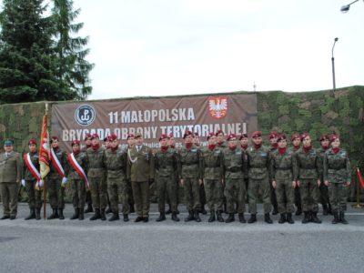 Święto 11 Małopolskiej Brygady Obrony Terytorialnej