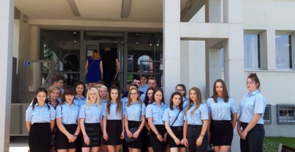 Klasy policyjne w Sądzie Rejonowym w Limanowej
