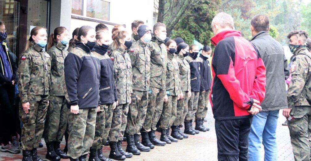 Rajd pamięci bohaterskiego żołnierza